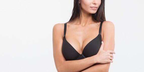 Pevnejšie a väčšie poprsie bez chirurgického zákroku v Beauty Esthetic Centrum/Bratislava - Nové Mesto