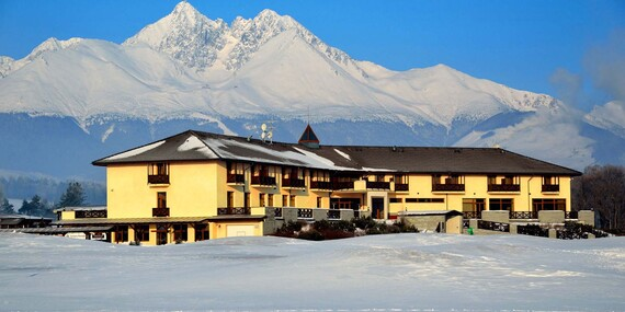 Jedinečný wellness pobyt pod Lomnickým štítom v hoteli International**** s úžasným výhľadom z vírivky / Vysoké Tatry - Veľká Lomnica