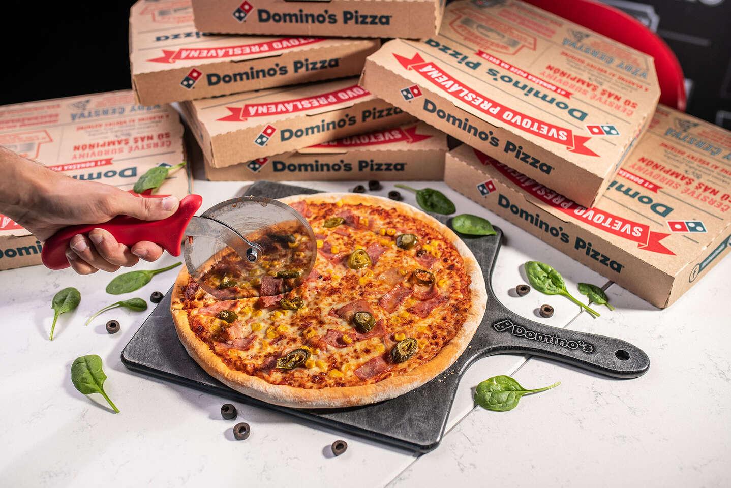 Druhá pizza v Domino´s Pizza iba za 1 € – bezkontaktná donáška či osobný odber