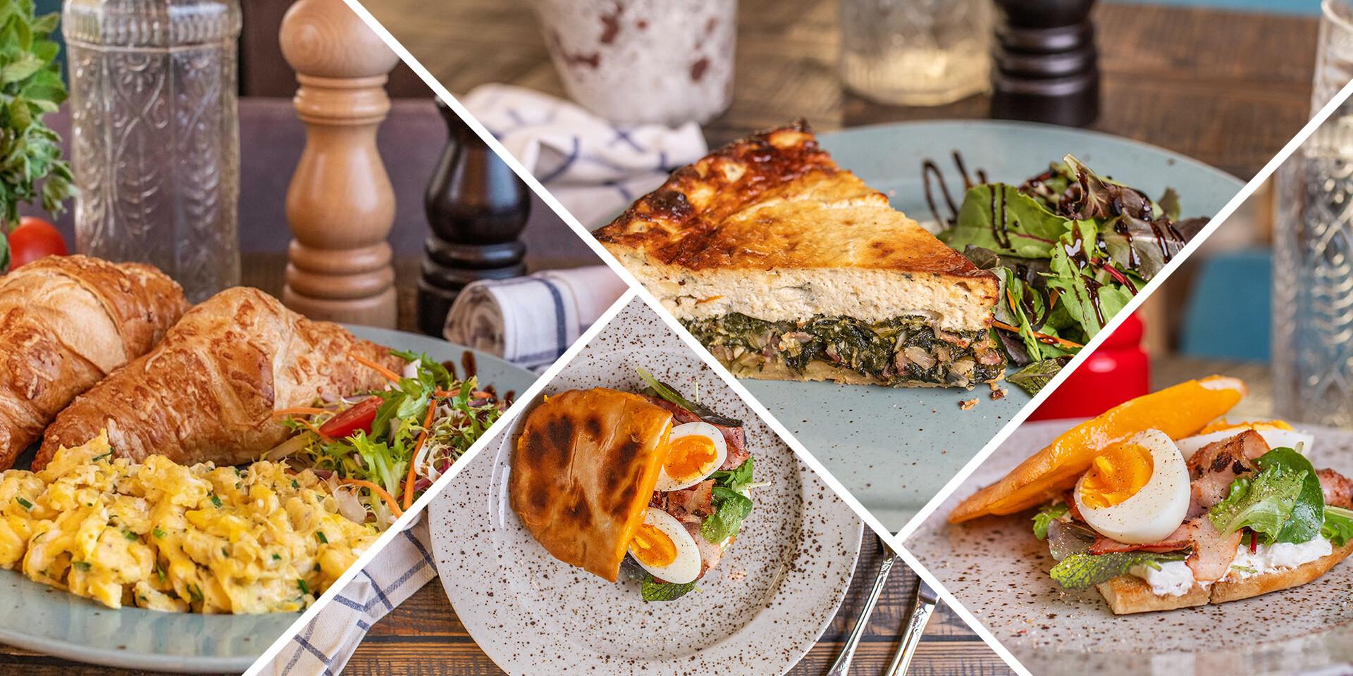 Francúzske raňajkové menu v útulnej reštaurácii Le Papillon v srdci Bratislavy