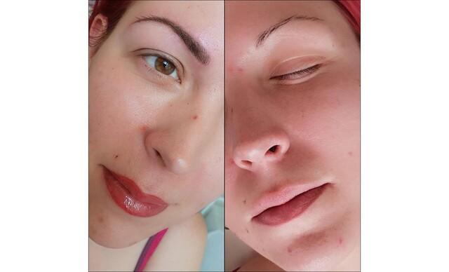 Permanentný make-up obočia, pier, očných liniek.
