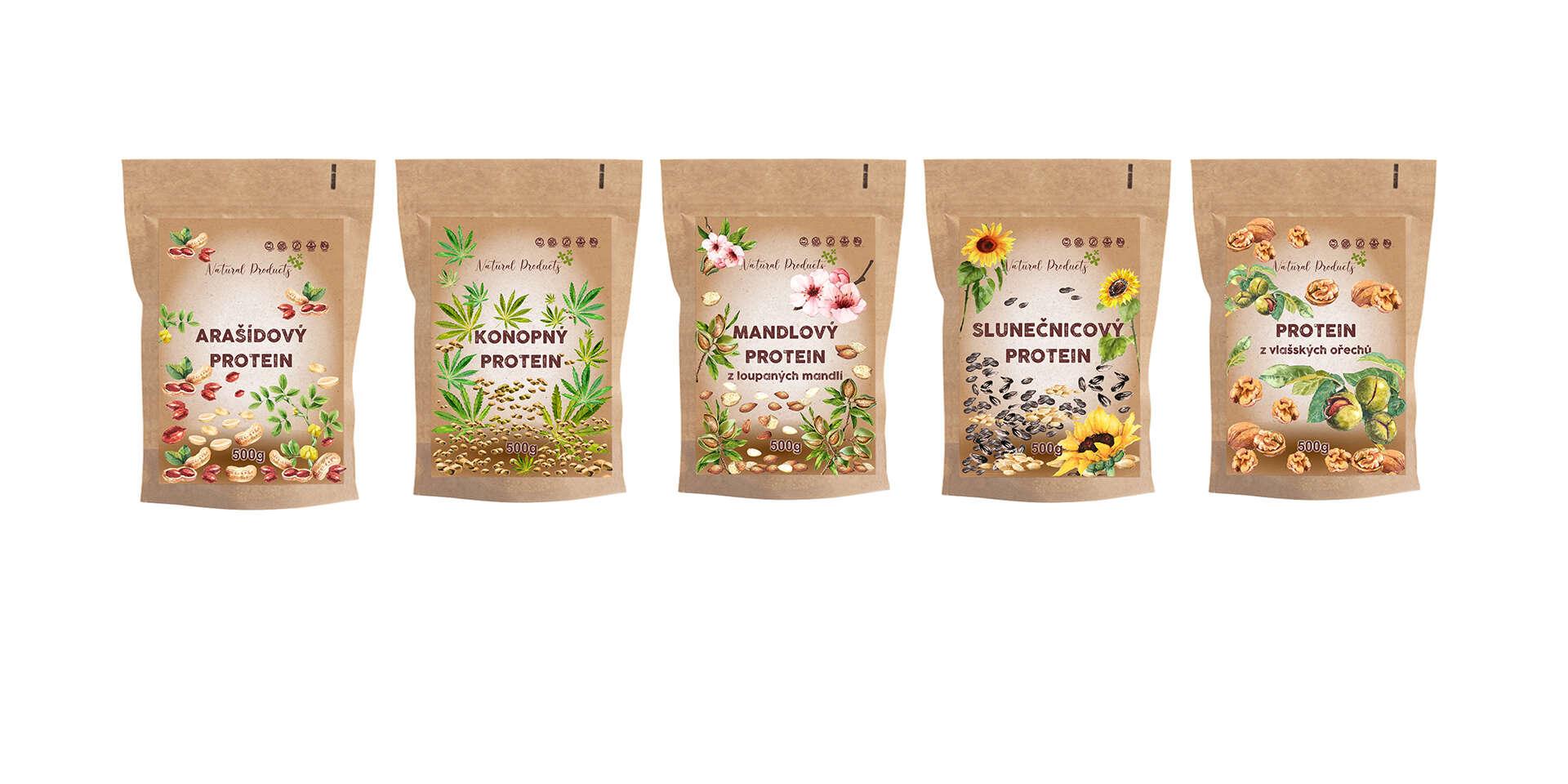 Výborné rastlinné proteíny v RAW kvalite bez pridaných konzervan...