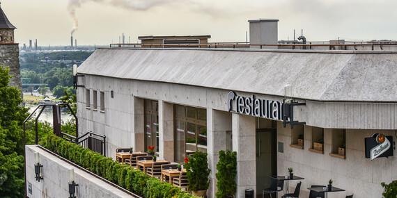 Víkendový 4-chodový brunch v Restaurant Parlament/Bratislava - Staré Mesto