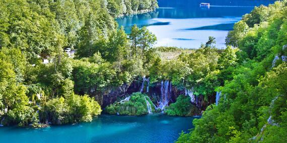Nádherné Plitvické jazerá a večerný Záhreb/Chorvátsko - Záhreb
