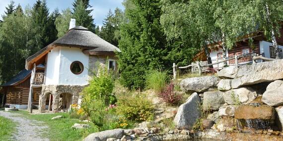 Pohádková vesnička pro dva + 2 děti do 12 let zdarma včetně polopenze, krytého bazénu a platností do ledna 2020/Vysočina/Ždárské Vrchy - Svratka