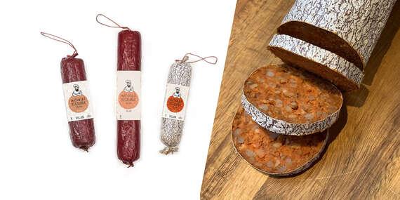 NOVINKA: Vegánske klobásky s autentickou chuťou (100 % prírodné)/Slovensko