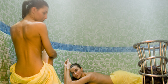 Wellness pobyt s polpenziou a vstupom do vitálneho vodného sveta v kúpeľoch Štós/Kúpele Štós