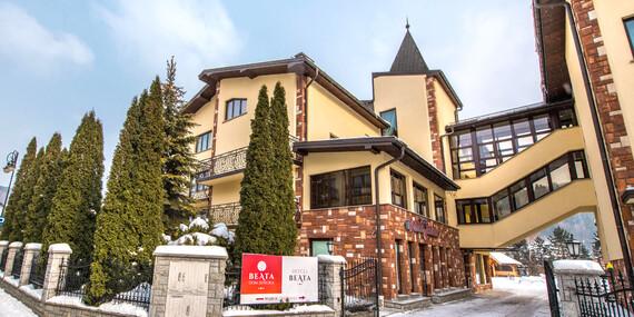 Zima alebo Veľká noc na krásnom mieste s ubytovaním a mini SPA v poľskom hoteli Beata*** / Poľsko - Muszyna Zlockie