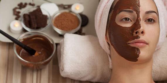 Kúra s pravou 74 % čokoládou na detoxikáciu pleti alebo s prírodnými zložkami luxusnou francúzskou kozmetikou/Bratislava – Ružinov