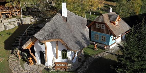 Pohádková vesnička pro dva + 2 děti do 12 let zdarma včetně polopenze, krytého bazénu a platností do dubna 2020/Vysočina/Ždárské Vrchy - Svratka