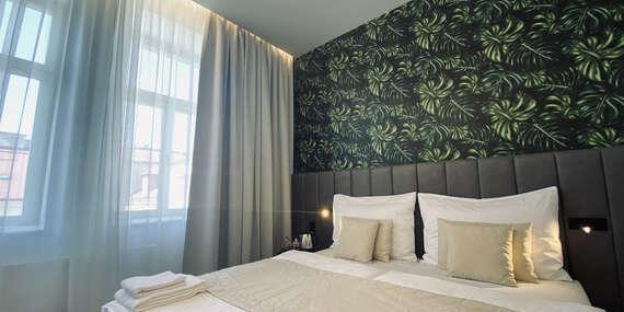 Ubytování pro dva v srdci Prahy v hotelu The Gold Bank se snídaní a lahví vína s platností až do března 2022/Praha