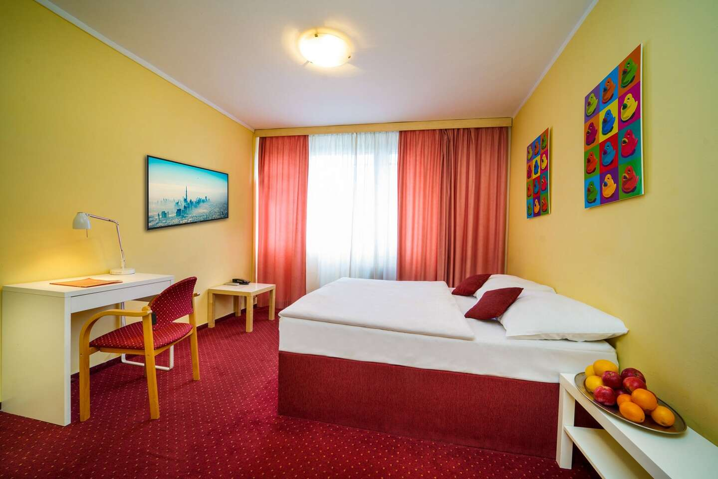 Priestranné izby hotela UNO*** v Prahe s raňajkami len 12 min. od centra