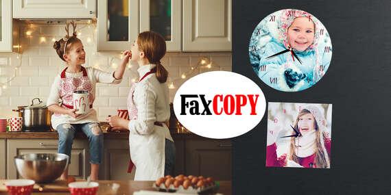 Originálne nástenné fotohodiny s vlastným motívom s osobným odberom ZADARMO až v 39 predajniach FaxCOPY/Slovensko
