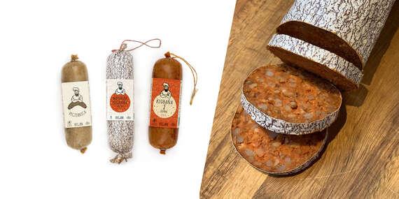 NOVINKA: Vegánske klobásky a kebaby s autentickou chuťou (100 % prírodné)/Slovensko