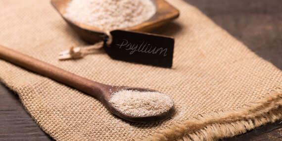 Unikátny doplnok stravy Psyllium husk na podporu trávenia, lepšiu imunitu a chudnutie/Slovensko