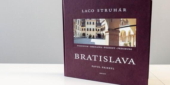 Obrazová publikácia o meste Bratislava s doručením/Slovensko