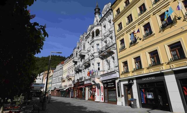 Hotel Palacký**** v Karlových Varoch s polpenziou a vstupom do slávnych Alžbetiných kúpeľov