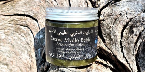 Prírodná kozmetika z Maroka - argánový olej, nočný anti-aging krém, čierne mydlo a marocký íl/Slovensko