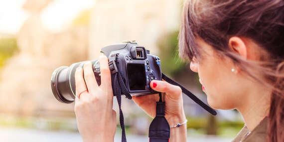 Individuálny kurz fotografovania, pod vedením profesionálneho fotografa za 1 deň / Banská Bystrica