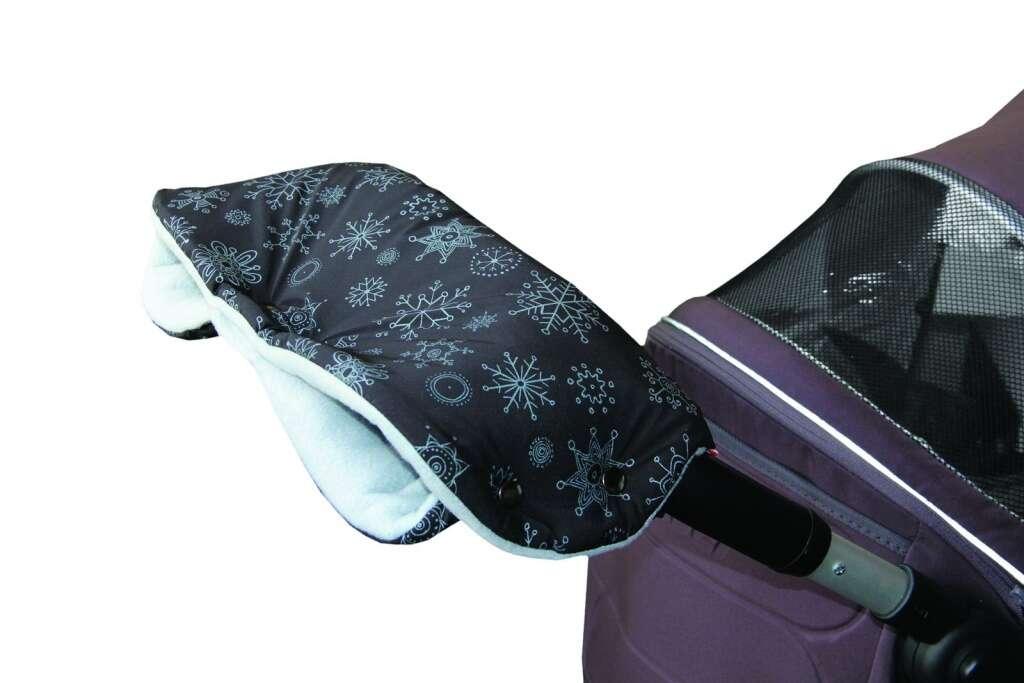 Praktické doplnky ku kočíku či do auta: rukávnik, obľúbená za...