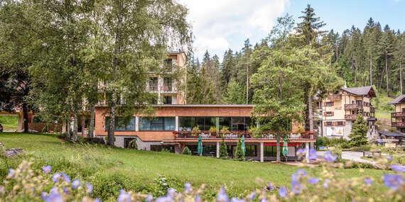 Letná dovolenka s polpenziou v Hrabovskej doline v hoteli Hrabovo/Ružomberok