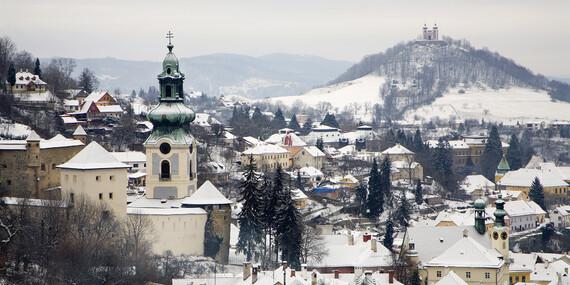 Oddych v Štiavnických vrchoch s wellness pre dvoch / Štiavnické vrchy - Hronská Dúbrava