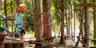 Tarzánia Hrabovo v korunách stromov - trasa pre deti