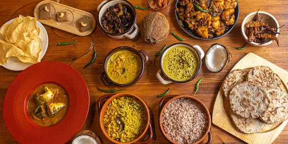 Tradičné Srí Lanské menu pre 2 osoby od šéfkuchára Anjana Thambawitage/Bratislava - Staré Mesto
