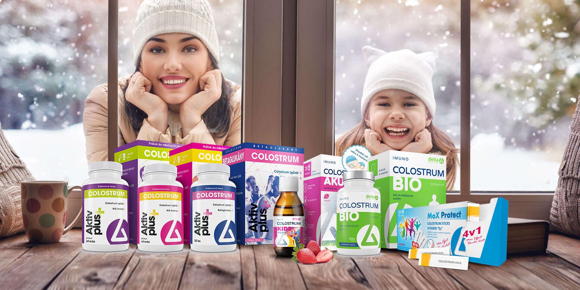 DELTA COLOSTRUM® – okamžitá dávka imunity, ktorá vás ochráni