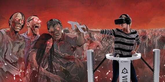Vyzkoušejte svou odvahu ve virtuální hře Zombie ostrov přímo na Václavském náměstí/Praha