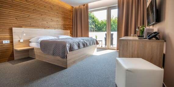 Zbrusu nový hotel ve známých termálech Malé Bielice s gurmánskou polopenzí nebo plnou penzí, neomezeným wellness a platností do prosince 2020 / Slovensko - Partizánske - Malé Bielice