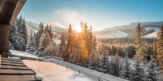 Zima s polpenziou a wellness v hoteli Ostredok*** len 50 m od lanovky v Jasnej / Nízke Tatry – Jasná