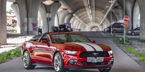 Nezabudnuteľná jazda na prenajatom Mustangu Cabrio/Bratislava - Ružinov