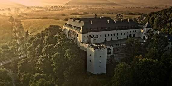 Kráľovská dovolenka v zámockom hoteli The Grand Vígľaš**** s polpenziou a luxusným wellness / Detva - Vígľaš