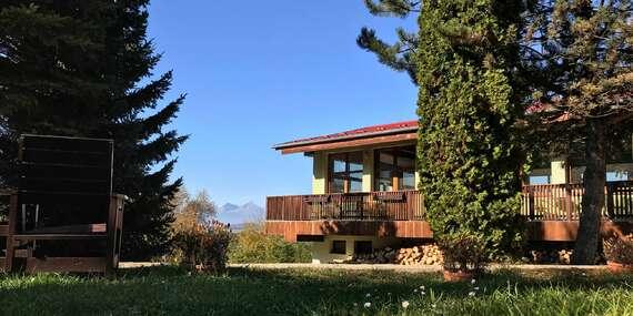 Nádherné prostředí Slovenského ráje s krásným výhledem na Tatry a relax v AquaCity Poprad to je dovolená v Park Hotelu Čingov ***/Slovenský Raj - Čingov - Hradisko