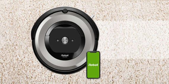 Robotický vysávač iRobot Roomba e5 s funkciou na vyhľadávanie špiny/Slovensko