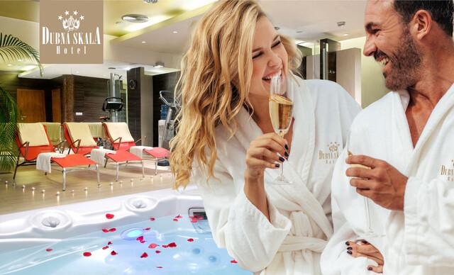 Romantický víkend v Boutique Hoteli Dubná Skala****