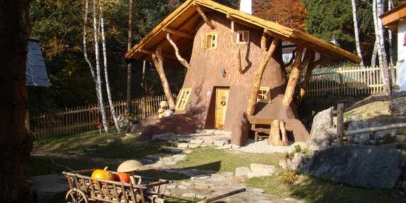 Pohádková vesnička pro dva + 2 děti do 12 let zdarma včetně polopenze, krytého bazénu a platností do června 2020 / Vysočina/Ždárské Vrchy - Svratka