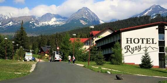 Relax vo Vysokých Tatrách s raňajkami na izbu a s jedným dieťaťom do 6 rokov cene v hoteli Rysy***/Vysoké Tatry - Tatranská Štrba