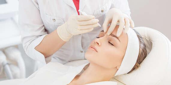 Stop vráskam - aplikácia účinnej látky špecialistkou na estetickú dermatológiu/Bratislava – Ružinov