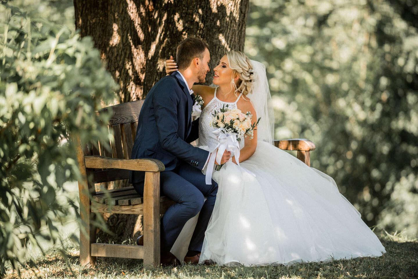 Fotografovanie svadobného dňa aj portrétne fotografie mladomanžel...