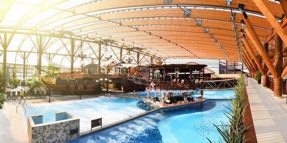 Chatka pre 2-5 osôb pri aquaparku TATRALANDIA s 20 % zľavou na vstup a možnosťou plnej penzie/Liptovský Mikuláš
