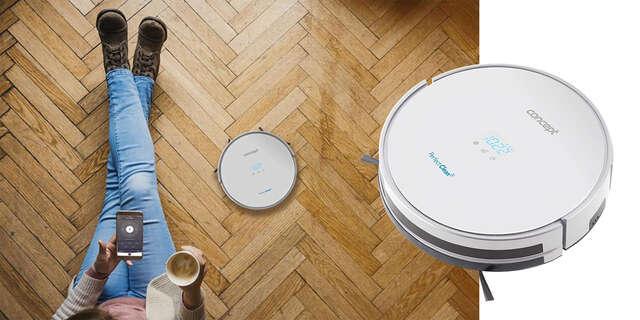 Robotický vysávač 2v1 Concept Perfect Clean VR2010 - vysáva, vytiera a neodvráva