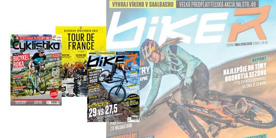Ročné predplatné časopisov Biker a Cyklistika s cyklomapami a sprievodcom Tour de France 2020 / Slovensko