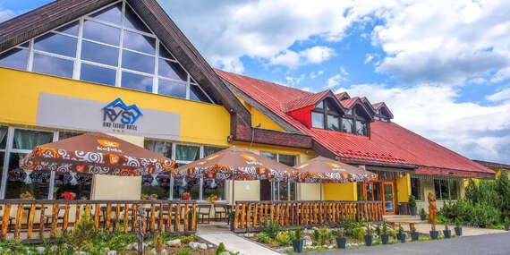 Pobyt vo Vysokých Tatrách s polpenziou a wellness v rodinnom hoteli Rysy*** / Vysoké Tatry - Tatranská Štrba