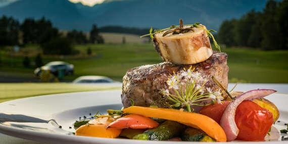 Romantický večer v hoteli International**** – wellness a 5-chodová večera s úžasným výhľadom na hory/Vysoké Tatry – Veľká Lomnica