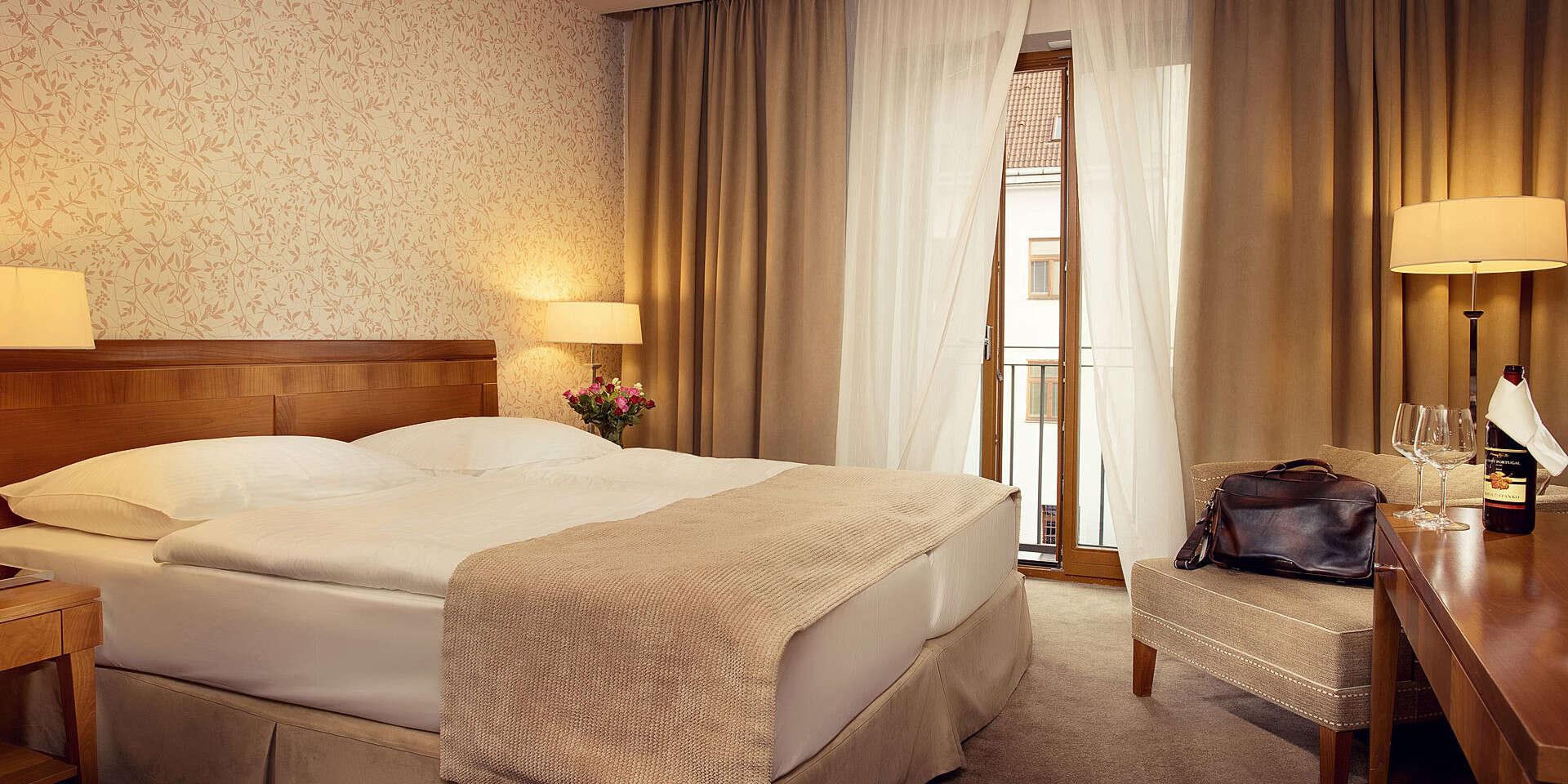 Romantika v centre Košíc pre dve osoby so vstupom do wellness v hoteli Ambassador****