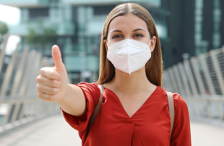 Respirátor FFP2/KN95 pre deti a dospelých bez výdychového ventilu s vysokou schopnosťou zachytiť vírusy a baktérie