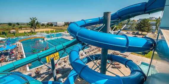 Zábava vo vodnom svete a relax vo wellness v Aquaparku Trnava - už otvorené/Trnava
