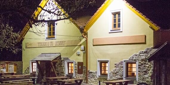 Pobyt na rozhraní Národního parku Podyjí se snídaní či polopenzí s privátním wellness/Jižní Morava - Nový Šaldorf/Znojmo